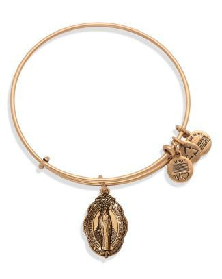 ALEX AND ANI- Mother Mary Charm Bracelet