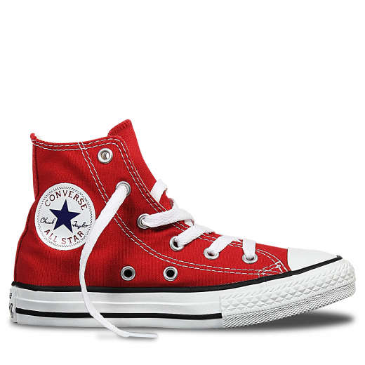 CONVERSE- Chuck Taylor All Star Junior High Top Red