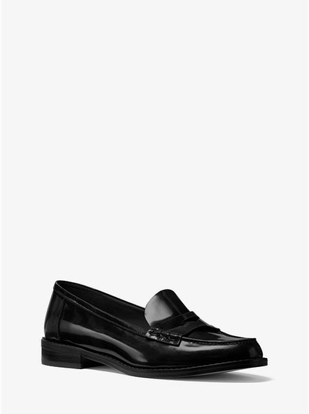 MICHAEL KORS- BUCHANAN CALF LEATHER LOAFER