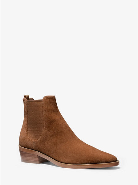 MICHAEL KORS- LOTTIE SUEDE ANKLE BOOT