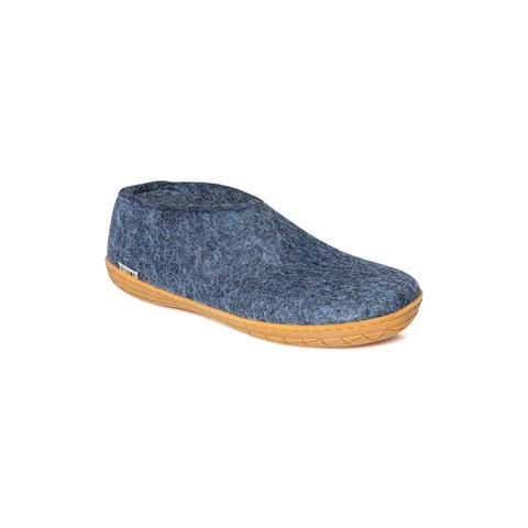 GLERUPS- MEN'S SHOE with Rubber Sole in Denim