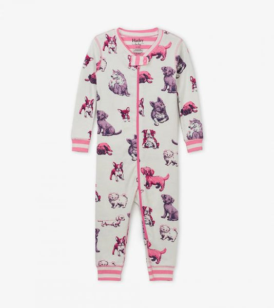 HATLEY- PRECIOUS PUPS ORGANIC COTTON COVERALLS