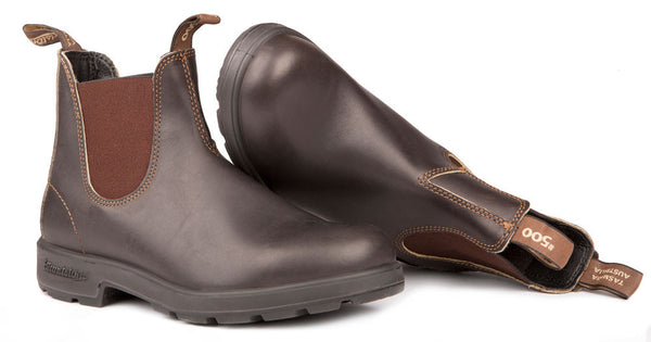 Blundstone- Women's 500 - The Original in Stout Brown