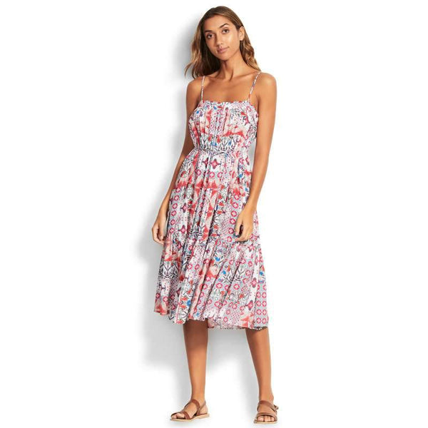 SEAFOLLY- MIDI DRESS - FREE SPIRIT