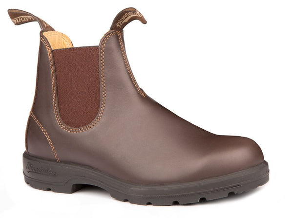 BLUNDSTONE- MEN'S 550 LEATHER LINED WALNUT