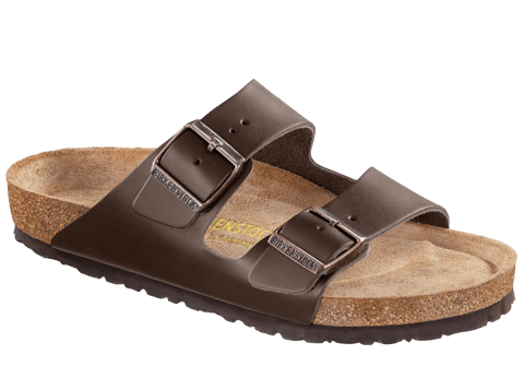 BIRKENSTOCK- MENS- AIRZONA SOFT FOOTBED- LEATHER