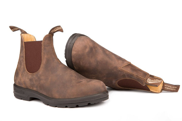 Blundstone- Men's 585 - The Leather Lined in Rustic Brown