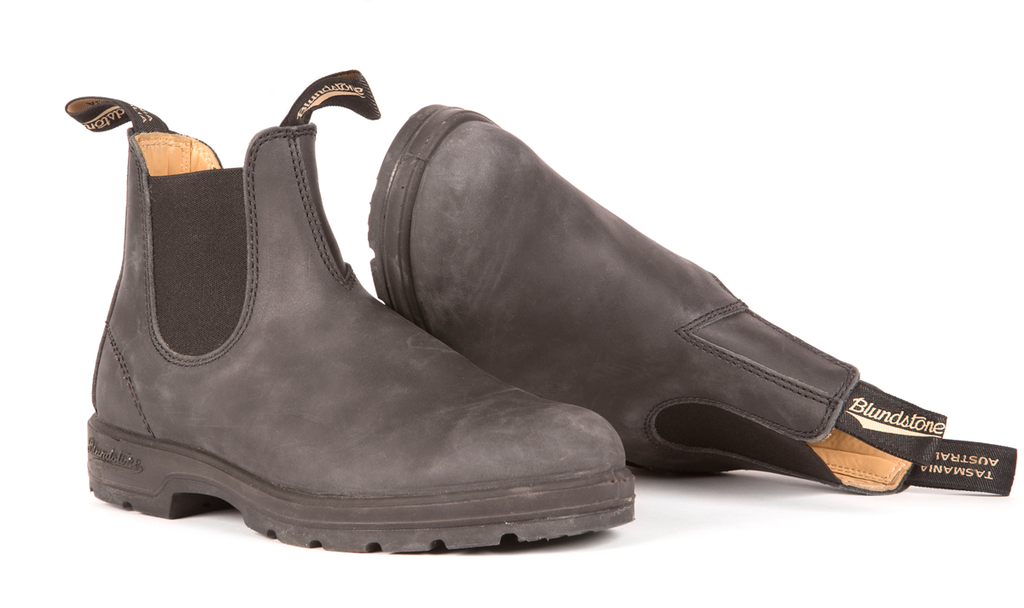 Blundstone- Men's 587 - The Leather Lined in Rustic Black