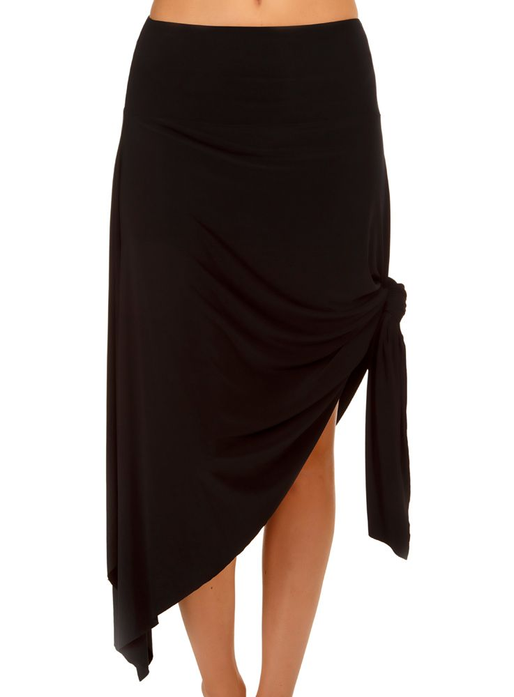 MAGICSUIT- JERSEY HANDKERCHIEF CONVERTIBLE SKIRT DRESS