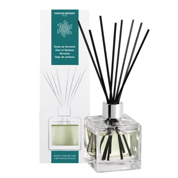 Lampe Berger- The cube scented bouquet Zest of Verbena