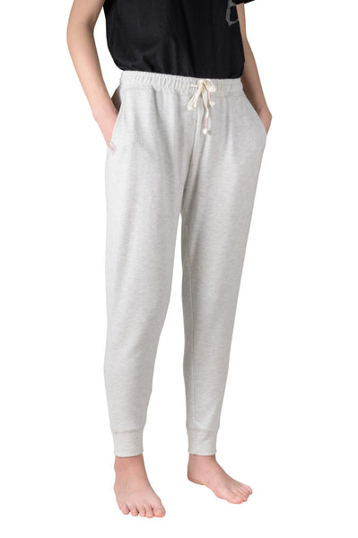 COFFEE SHOPPE- COZY KICKING-BACK READING JOGGER - GREY MIX
