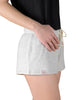 COFFEE SHOPPE- COZY SHORT & SWEET READING SHORTS - GREY MIX