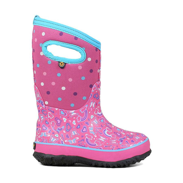 BOGS- CLASSIC RAINBOW KIDS WINTER BOOTS