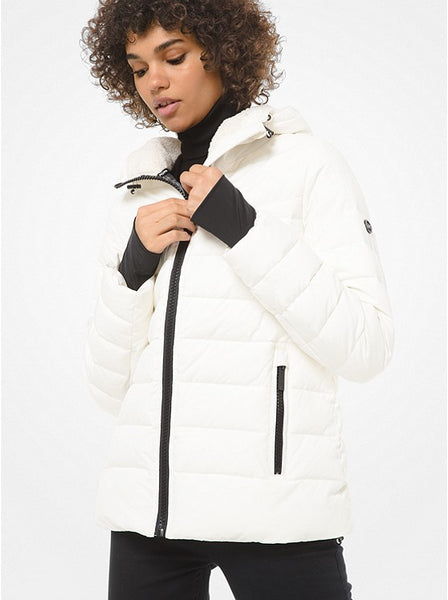 MICHAEL KORS- QUILTED PUFFER JACKET