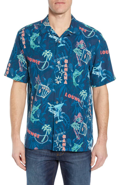 TOMMY BAHAMA- THIS IS HOW I ROLL SILK SPORT SHIRT