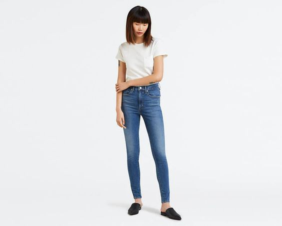 LEVI- MILE HIGH SUPER SKINNY JEANS