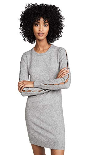 BB DAKOTA- NOTHING SWEATER DRESS WITH BUTTON SLEEVES