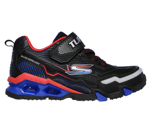 SKECHERS - YOUTH HYDRO LIGHTS BLACK/RED