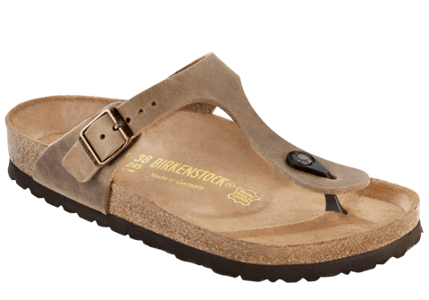 BIRKENSTOCK- Gizeh Oiled Leather