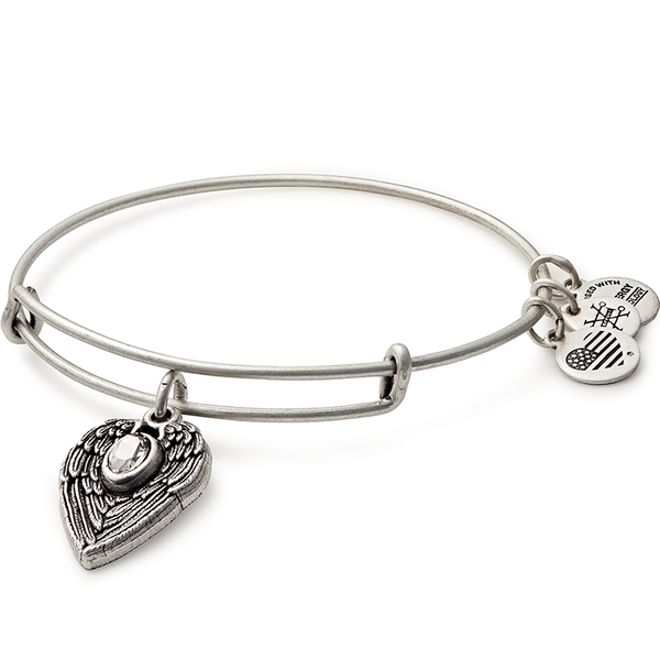 ALEX AND ANI- Guardian Angel Charm Bangle
