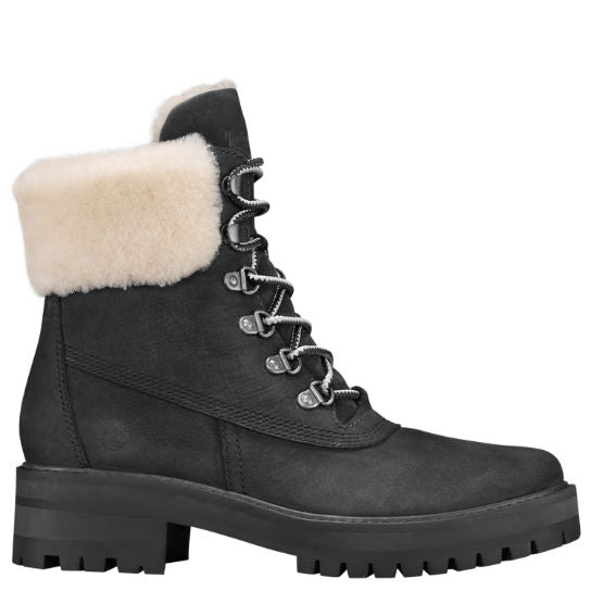 TIMBERLAND- WOMEN'S COURMAYEUR VALLEY SHEARLING-LINED BOOTS