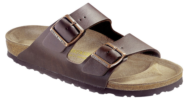 BIRKENSTOCK- MEN'S ARIZONA SOFT | BIRKO-FLOR | DARK BROWN BF