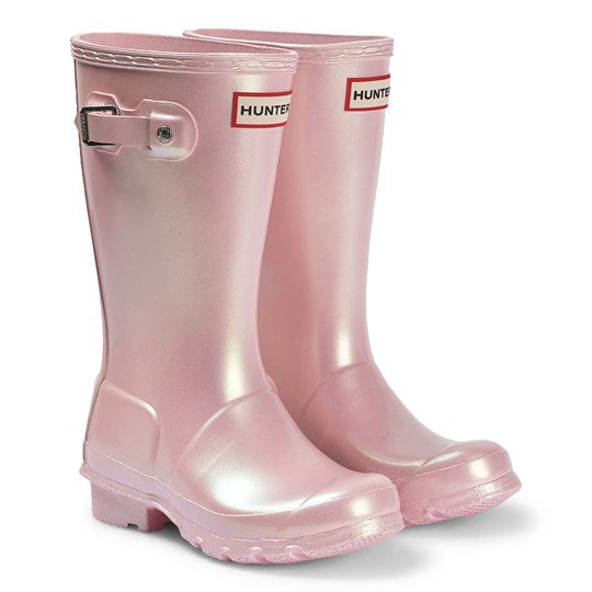 HUNTER- ORIGINAL BIG KIDS NEBULA RAINBOOTS