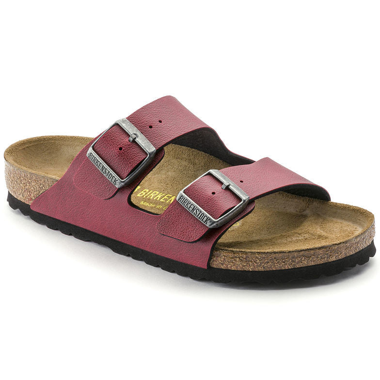 BIRKENSTOCK- WOMEN'S ARIZONA | BIRKO FLOR | PULL UP BORDEAUX