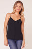 BB DAKOTA- CRAZY LITTLE THING TANK TOP WITH VELVET TRIM
