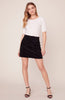 BB DAKOTA- CUT THE CORD CORDUROY MINI SKIRT