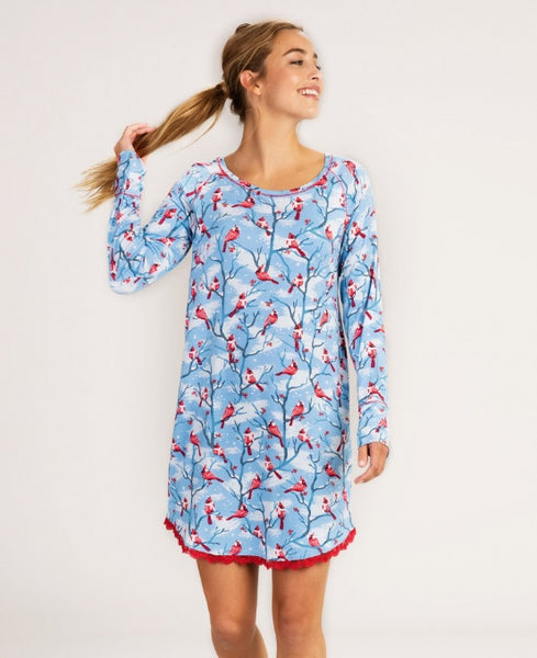 HATLEY- CARDINAL NIGHTY NIGHTDRESS