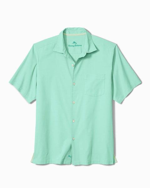 TOMMY BAHAMA- CATALINA TWILL STRETCH CAMP SHIRT