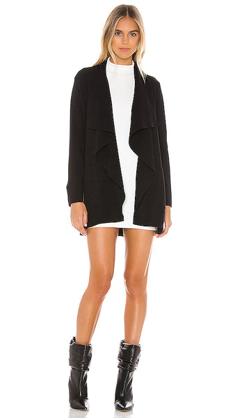 CUPCAKES & CASHMERE- MARTA SWEATER DRAPE FRONT JACKET (more colours)