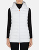 SAVE THE DUCK- WOMEN'S SOLD HOODED VEST (more colours)