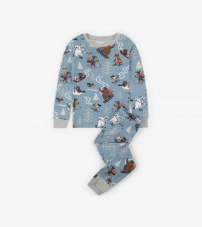 HATLEY-Woodland Animals Organic Cotton Pajama Set