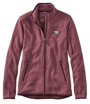 L.L. BEAN- SWEATER FLEECE FULL-ZIP JACKET