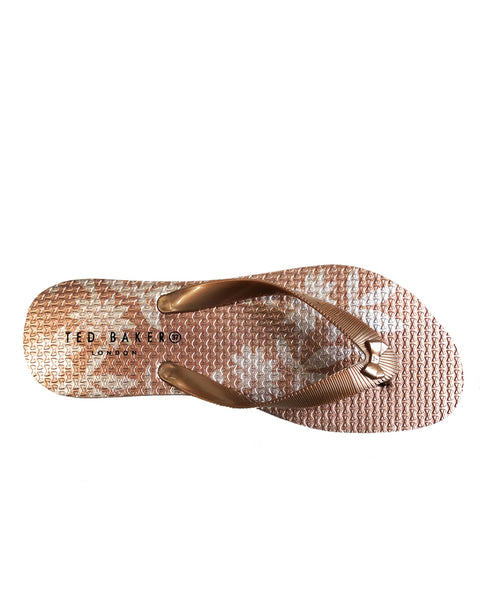 TED BAKER- PINK BEAULAM LADIES SANDAL 918413