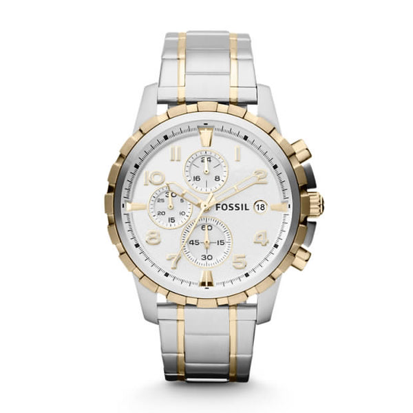 FOSSIL- DEAN CHRONOGRAPH STAINLESS STEEL WATCH