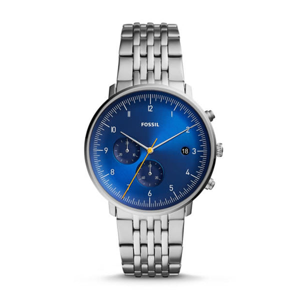 FOSSIL- CHASE TIMER CHRONOGRAPH STAINLESS STEEL WATCH
