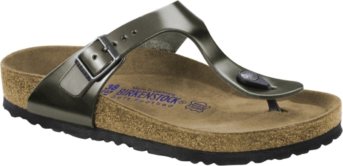 095df9b2e75 BIRKENSTOCK- Gizeh Soft Footbed Leather – Bigley Shoes and Clothing