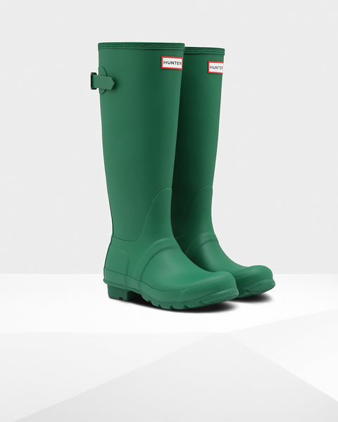 HUNTER- WOMENS ORIGINAL BACK ADJUSTABLE RAINBOOT