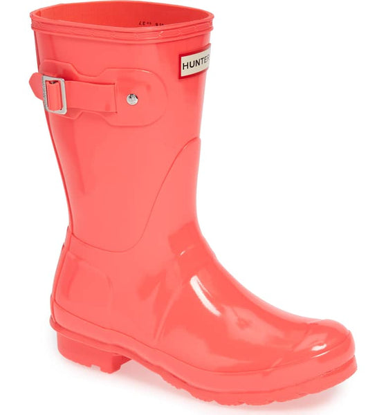 HUNTER- WOMEN'S ORIGINAL SHORT GLOSS RAINBOOTS