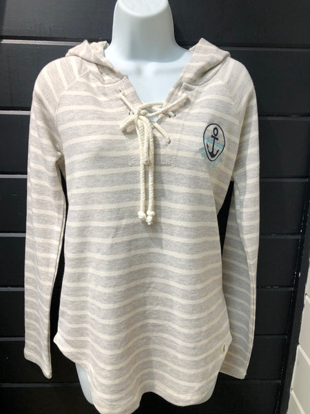 LAKESHIRTS- BOBCAYGEON ANCHOR CREST SWEATER