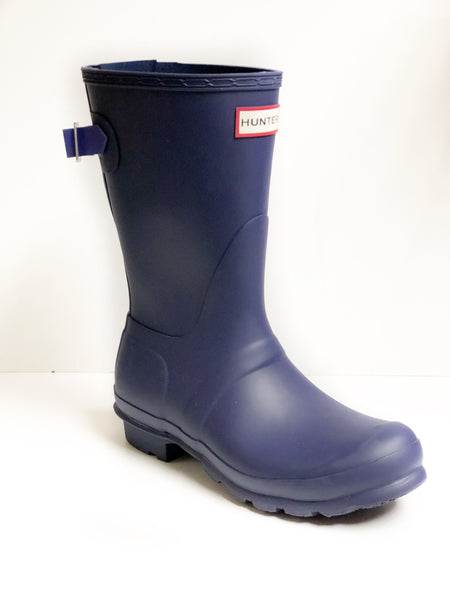 HUNTER- WOMEN'S SHORT BACK ADJUSTABLE RAINBOOTS
