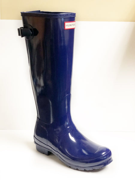 HUNTER- WOMEN'S ORIGINAL TALL BACK ADJUSTABLE RAINBOOTS