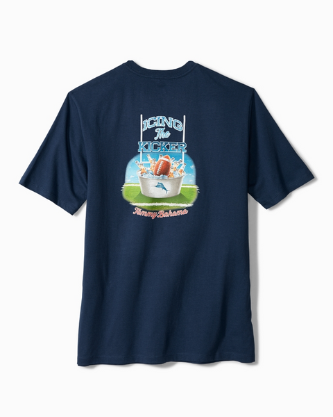TOMMY BAHAMA- ICING THE KICKER T-SHIRT