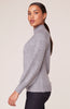 BB DAKOTA- LIVE AND LET TIE KEYHOLE BACK SWEATER
