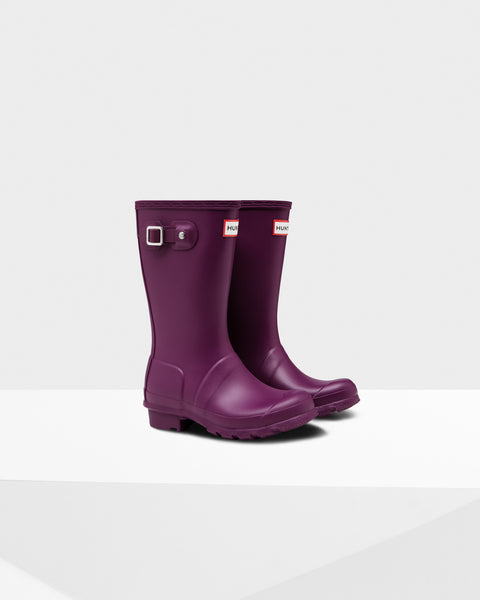 HUNTER- ORIGINAL KIDS RAIN BOOTS