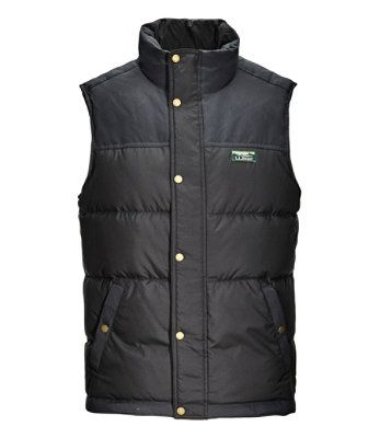 L.L. BEAN- MEN'S MOUNTAIN CLASSIC DOWN VEST
