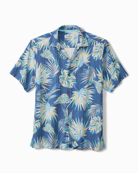 TOMMY BAHAMA- MONSTERA GEO ISLANDZONE CAMP SHIRT